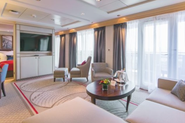 Penthouse auf Queen Mary 2